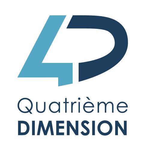Nathalie Noblet - Création logo - Quatrième Dimension