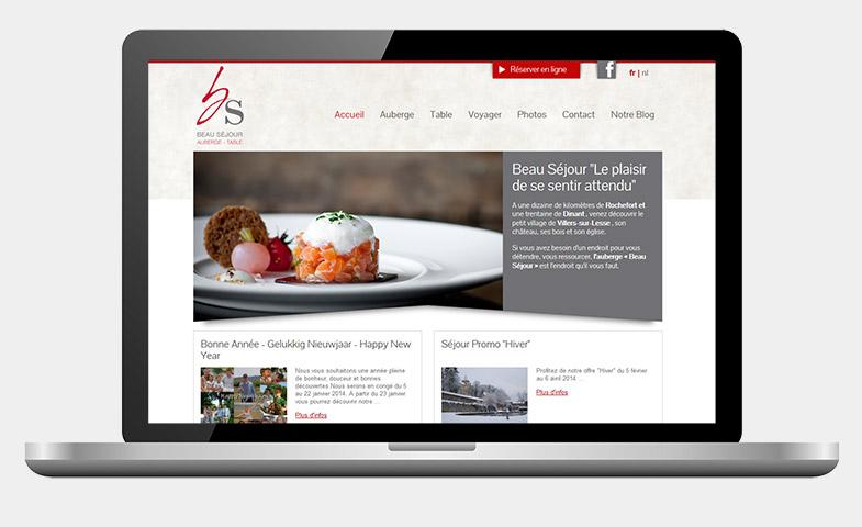 Nathalie Noblet - Webdesign - Site web Beau séjour
