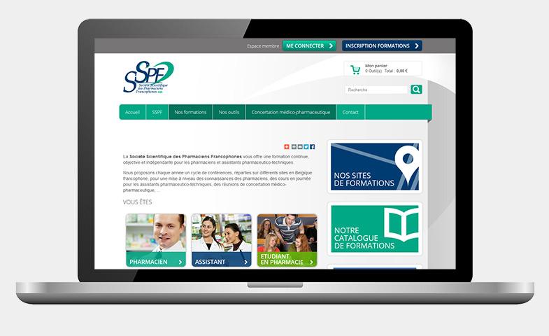 Nathalie Noblet - Webdesign - SSPF