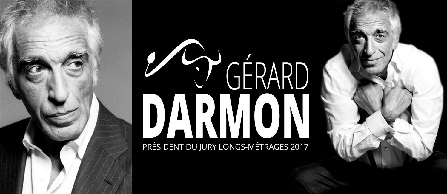Gerard Darmon président du jury du festival 2017
